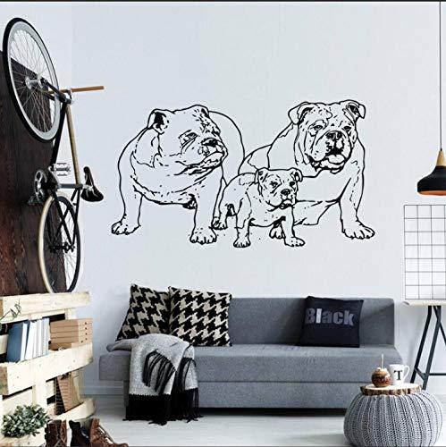 Tatuajes de Pared de Vinilo Pegatina Bulldog Francés Perro ...
