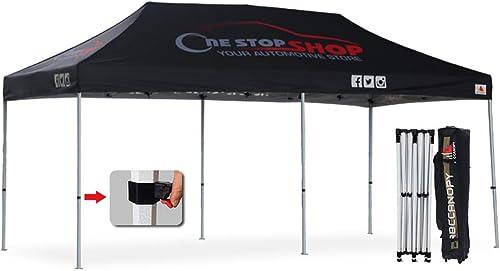 ABCCANOPY Pro-40 Custom Pop up Tents 10×20 Pop up Canopy