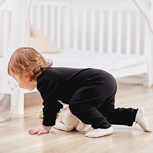 JuneBloom Baby Boy Romper Cotton Printed Long Sleeve Jumpsuit For Wedding Party 3 Months Bind Foot