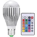 Cheap LED Light Bulbs Color Changing Light Bulb Colorful Magic RGB Bulb 10W For Christmas lights/Home decor [Fits E26 and E27]