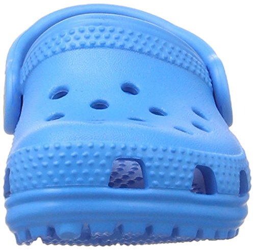 crocs Unisex-Kinder Classic Clog Kids Blau (Ocean)