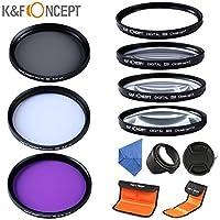 K&F Concept 67mm Filtro Kit 7 Piezas UV
