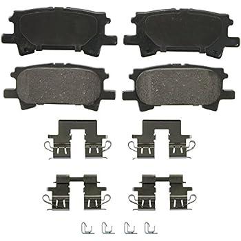 ACDelco 14D996CH Advantage Ceramic Rear Disc Brake Pad Set