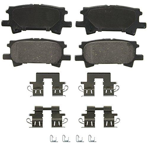 Highlander Rear Brake (Wagner QuickStop ZD996 Ceramic Disc Pad Set, Rear)