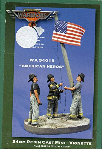 Warriors 54mm American Heroes Resin Cast Mini Vignette Resin Figure Kit #WA54019