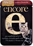 Encore Cat Food Pouch Chicken & Brown Rice, 70g, Pack of 16