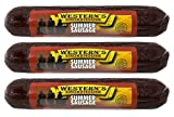 #6: Western's Smokehouse Original Beef and Pork Smoked Summer Sausage 8 Ounce (Pack of 3)