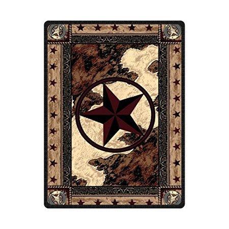 (Welcome Door Mats Indoor Entrance Rug Mat Western Texas Star Pattern Kitchen Floor Bathroom Carpets Home Decor Absorbent Bath Non Slip Doormats 20 x 31.5 inch)