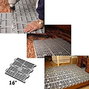 Amazon Com Attic Dek Flooring System Pack Of 6 Panels