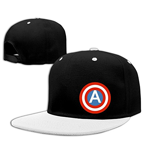 Custom Unisex-Adult American Shield Snapback Baseball Hats - Downey Sunglasses Robert