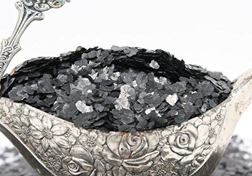 Black Natural Mica Flitter Flakes - One Pound Bulk Pack - #311-4395 by Meyer Imports (Image #6)