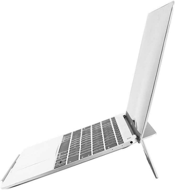 KTDZ Portable Laptop Stand Desk MacBook Pro MacBook Air Notebook Stand and Foldable Universal Lightweight Aluminum Stand with Steady Ergonomic Minimalist Design for iPad