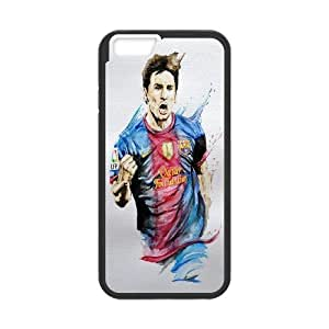 "Super Soccer Star Lionel Messi Pattern Productive Back Phone Case For Apple Iphone 6,4.7"" screen Cases -Style-9"