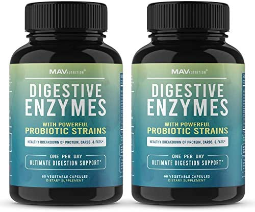 MAV Nutrition Digestive Probiotics Digestion
