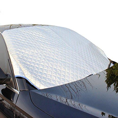 CLISPEED Windshield Sun Shade Foldable Car Front Window Sunshades Car Sun Shield Windshield Sun Visor for Auto Car