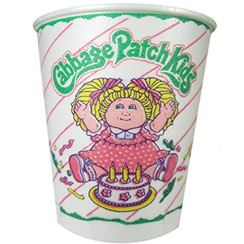 Cabbage Patch Kids Vintage 1983 7oz Styrofoam Cups (8ct)