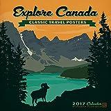 Explore Canada 2017 Wall Calendar