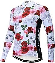 Cycling Jersey Women Bicycle Team Long Sleeve Racing Bike T-Shirt Warm Clothing Sport Tops