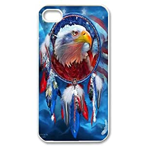 High Quality Phone Case For Iphone 4 4S case cover -Eagle pattern art-LiuWeiTing Store Case 6