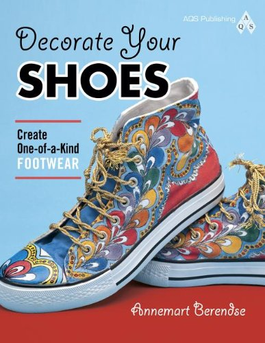 Decorate Your Shoes! Create One-of-a-kind Footwear