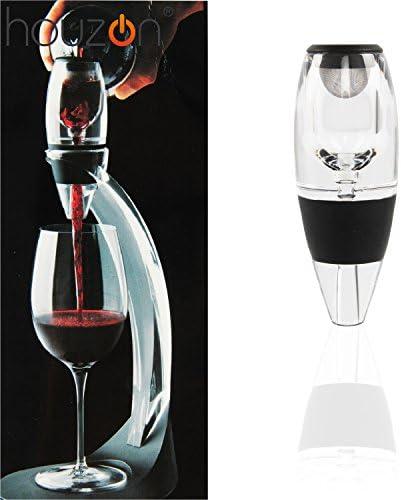 HOUZON® Decantador de Vino Tinto + Filtro + Bolsa de Transporte ...