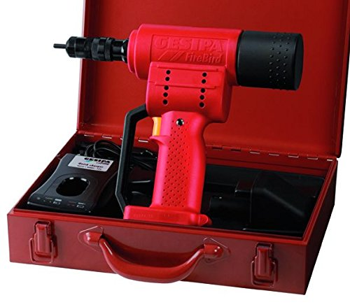 One Gesipa FireBird 14.4 Volt Rivet Nut Tool with Metal Carrying Case