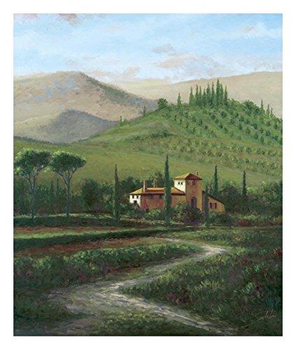 (Global Gallery Sambataro Villa at Stia-Giclee on Paper Print-Unframed-24 x 20 in Image Size, 24