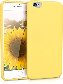 funda iphone amarilla pastel