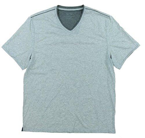 Calvin Klein Mens Pima Cotton V-Neck T-Shirt (Large) Pima Cotton V-neck Tee
