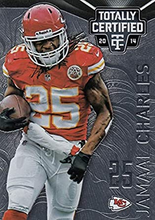 Football NFL 2014 Panini Totally Certified  48 Jamaal Charles  48 NM+ Chiefs 29608fe26