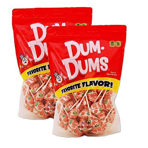 Dum Dums Orange 2-1 lb bags -