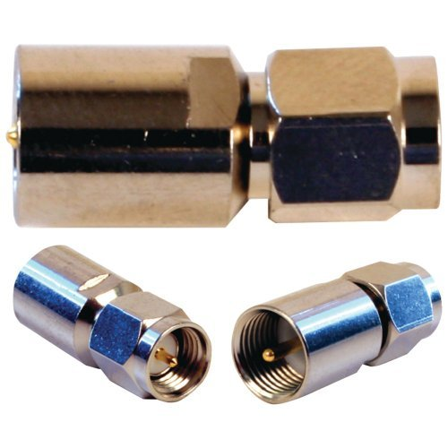 1 - Cellular Booster Accessory (FME Male to SMA Male Connector), Antenna connection adapter for Sleek(R)/Mobile Pro & Mini Mobile amps, Most Wilson(R) cellular antennas come with coaxial that is terminated with an FME connector, 971119