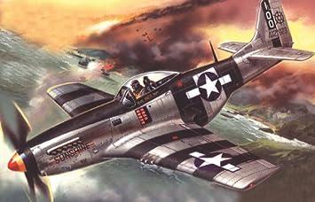 ICM 48154 - Maqueta de avión Mustang P-51K American Fighter ...