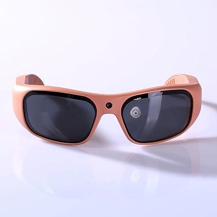 86e05b80e65 GoVision Apollo 1080p HD Camera Glasses Water Resistant Video Recording  Sport Sunglasses - Rose Gold