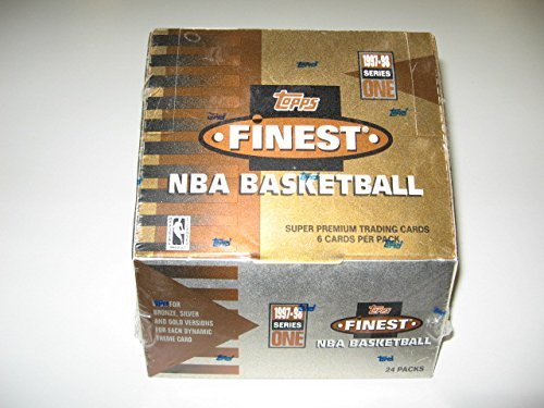 1997/98 Topps Finest Basketball Series 1 Box (Hobby)