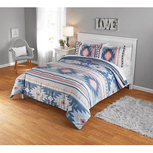 Your Zone Aztec Full Queen Comforter Set