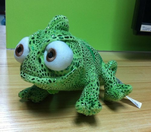 New Disney Tangled Rapunzel Pascal Green Chameleon 8