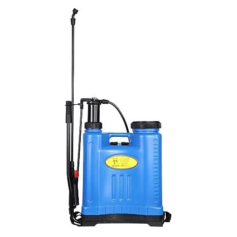 Zerodis Mochila pulverizadora, 16L presión mochila jardín cosecha Weed Killer pulverizador agrícola jardinería herramienta para
