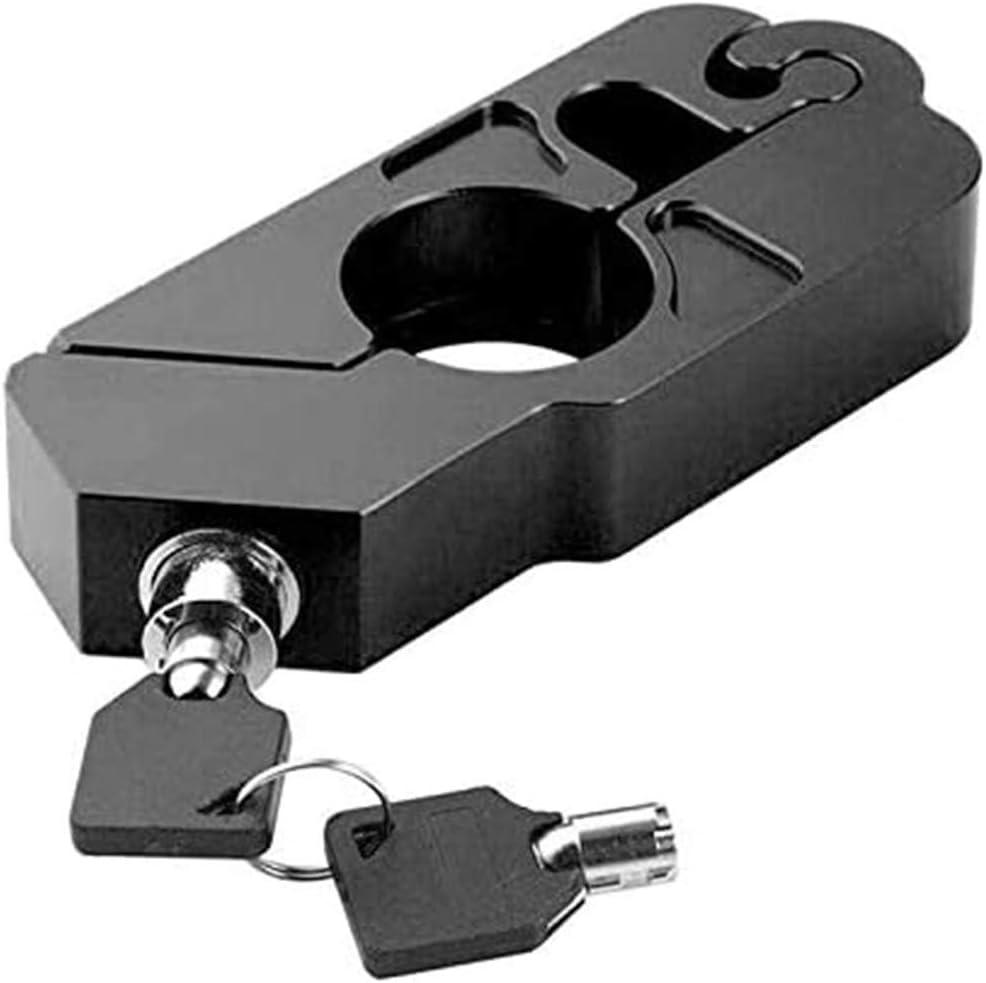 Lenker Sicherheitsschloss Universal Motorrad Lenker Bremshebel Schloss Fahrzeugsicherheit Bremshebel-Sperre f/ür Motorr/äder WXQY Bremshebel Lock Caps Lock