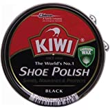 Kiwi Shoe Polish Black 50 MlL