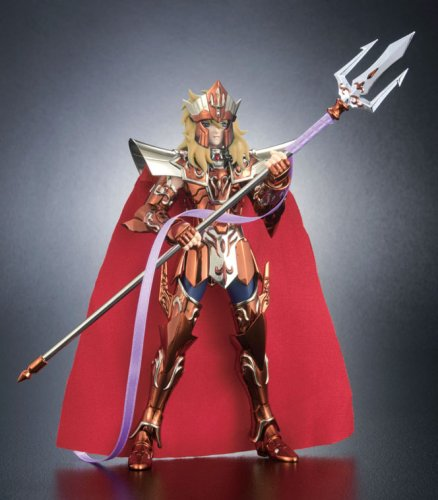 Saint Seiya Myth Cloth Poseidon God of Sea Royal Ornament Deluxe Version by Bandai