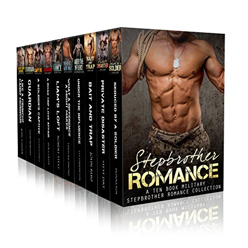Boxed Set: Military Stepbrother Romance Ten Boxed Set (A Military Stepbrother Romance Series Complete Collection Book 1)