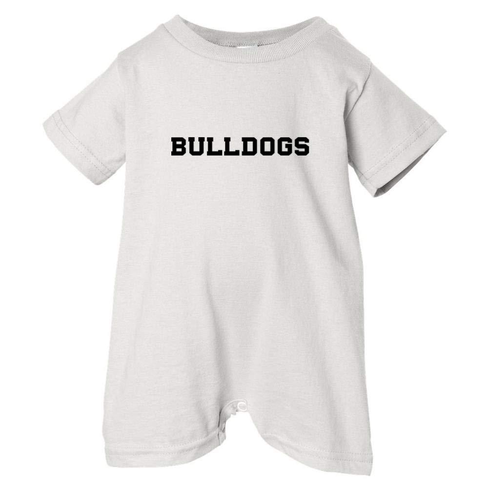 T-Shirt Romper Mashed Clothing Unisex Baby Bulldogs Black Print