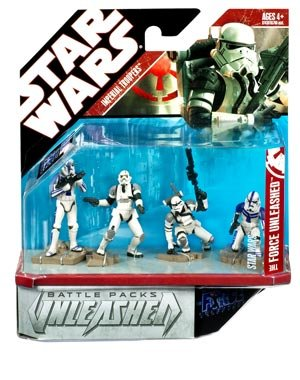 Star Wars Imperial Troopers - Unleashed Battle Pack