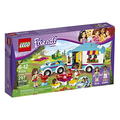 LEGO Friends Summer Caravan 41034 Building Set (Discontinued by manufacturer)