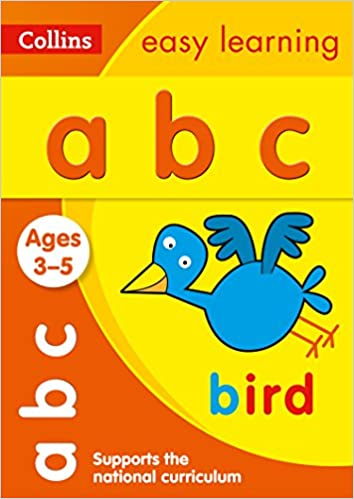 Amazon.com: ABC: Ages 3-5 (Collins Easy Learning Preschool ...