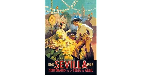Amazon.com: Sevilla Centenario de la Feria de Abril 20x30 poster: Prints: Posters & Prints