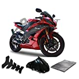9FastMoto Fairings for yamaha R6 YZF-600 2008 2009 2010 2011 2012 2013 2014 2015 Motorcycle Fairing Kit ABS Injection Set Sportbike Cowls Panels (Red & Black) Y1068