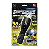 Bell Howell Taclight 1308 Taclight High-Powered Tactical Flashlight with 5 Modes & Zoom Function (80x Brighter)