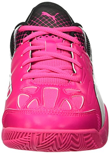black 5 01 Compétition Rose Wn's Indoor Evospeed Pink Mehrfarbig de Glo Puma white Football 5 Femme Chaussures AxqZcFc